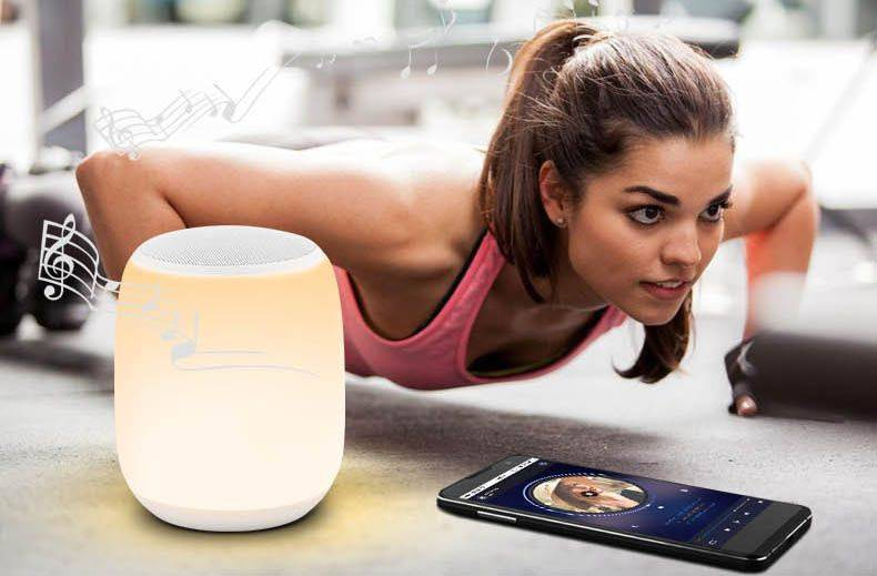 intellight LED Bluetooth mesic bedlight
